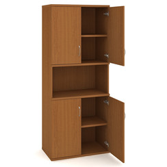 Door cabinet with shelves 192*80cm - S 5 80 05