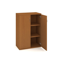 Door cabinet with shelves 115.2*80cm - S 3 80 01