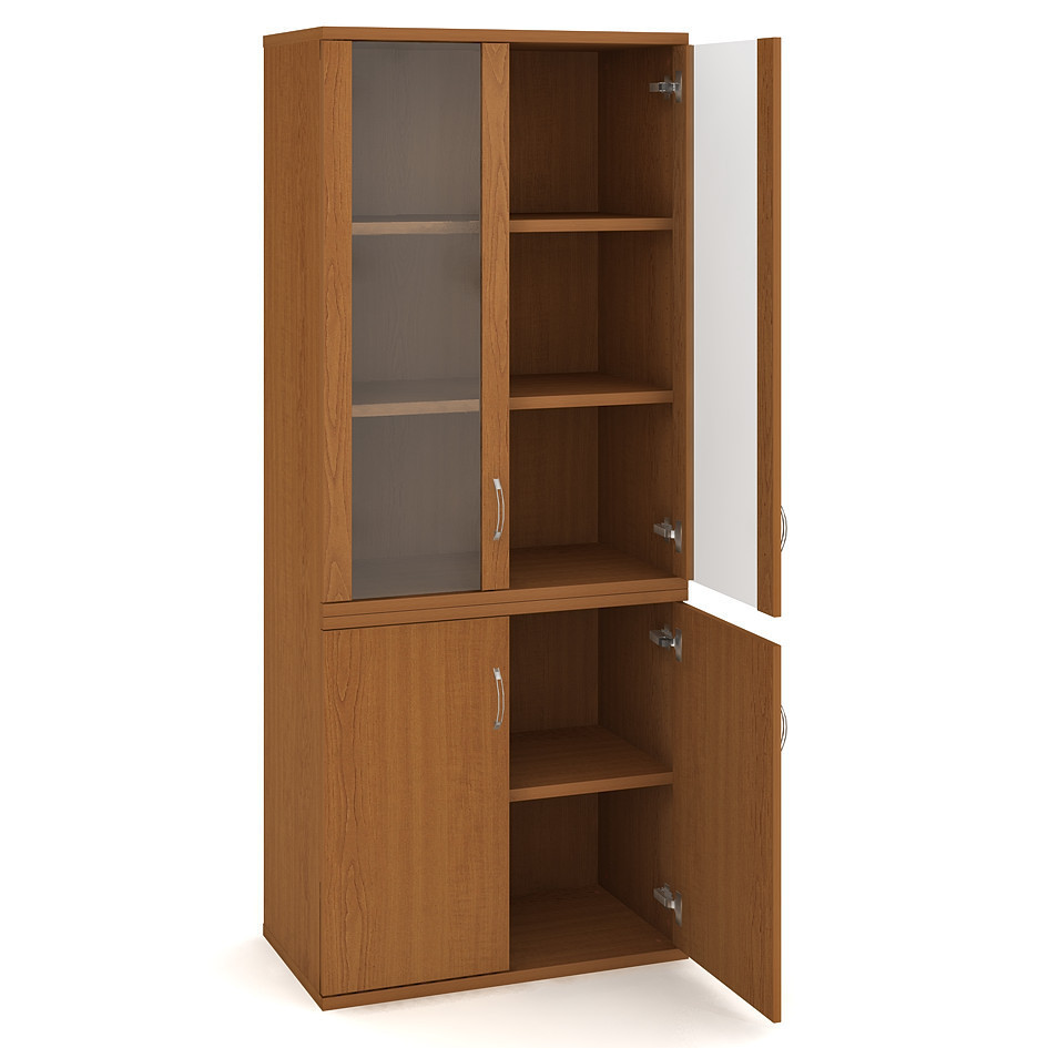 Door cabinet with shelves 192*80cm - S 5 80 09