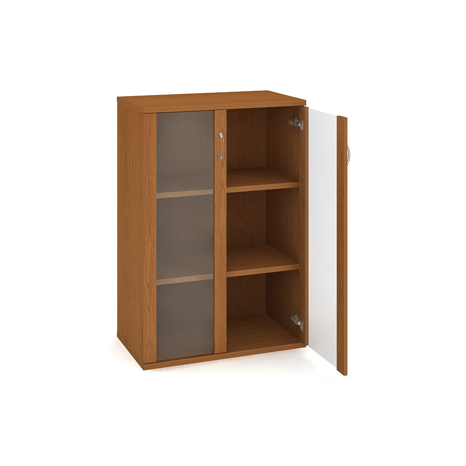 Door cabinet with shelves 115.2*80 cm - S 3 80 04