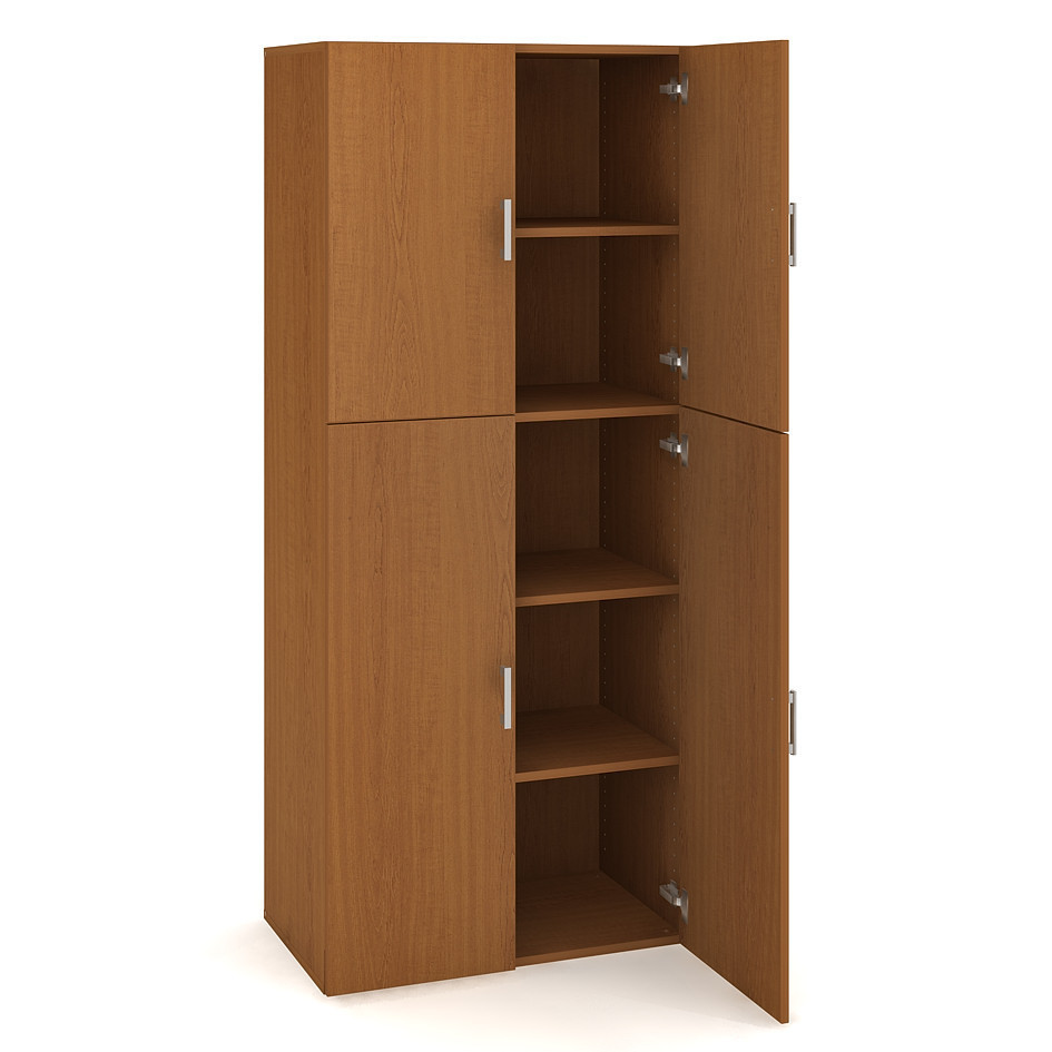 Door cabinet with shelves 185*80cm - D 5 80 06