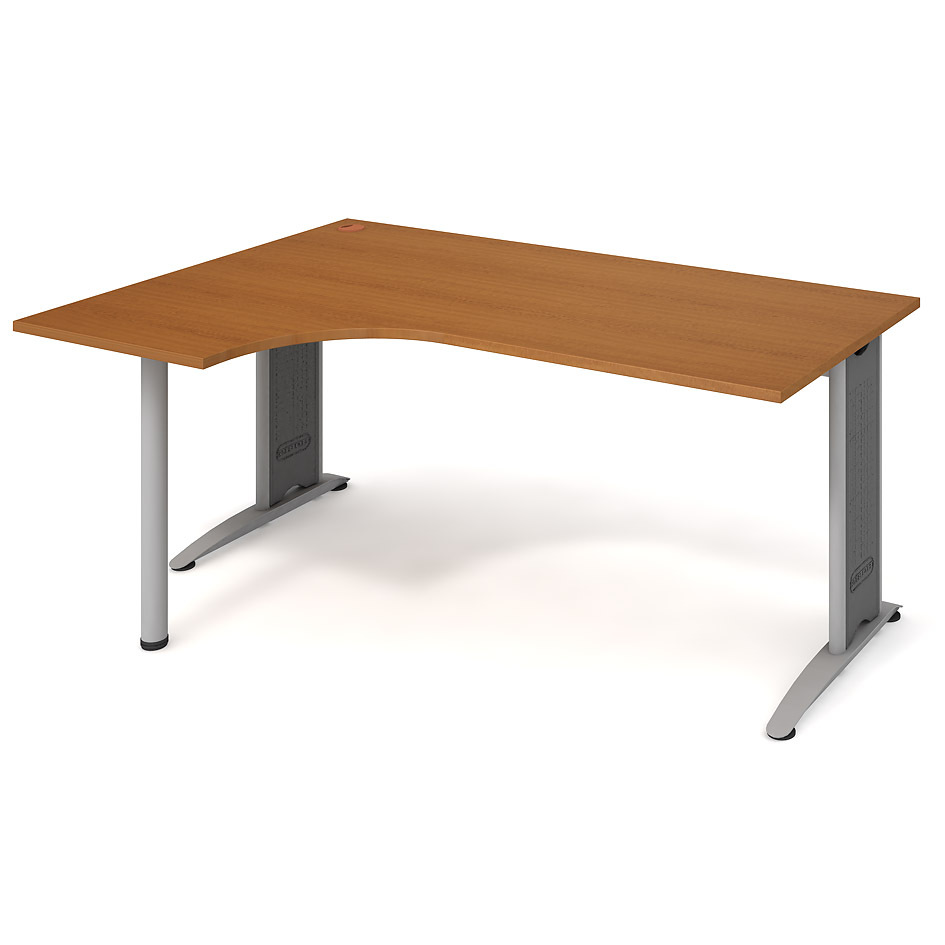 Ergonomic desk, right 180 x 120 cm - FE 1800 60 P
